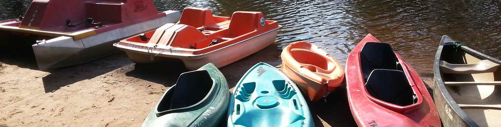Free Use of Kayaks, Paddle Boats