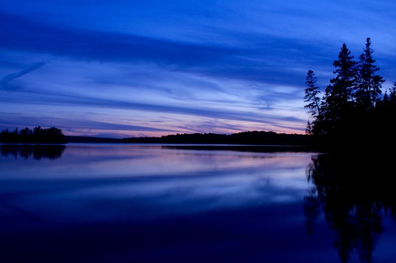Flowage Sunset - Daniel Fuhrman