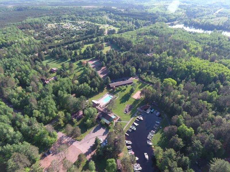 Closer Aerial Treeland