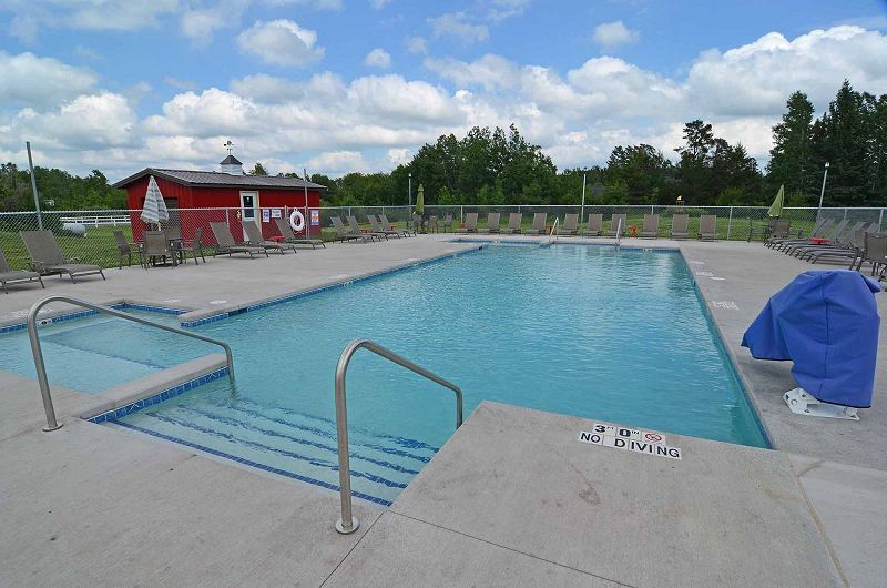 Treeland Farm RV Park Swimming Pool
