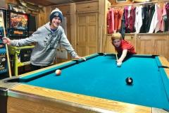 Boys Playing Pool