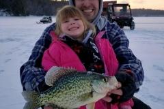 Tate & Emily Ice Fishing
