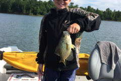 Boy with Crappie
