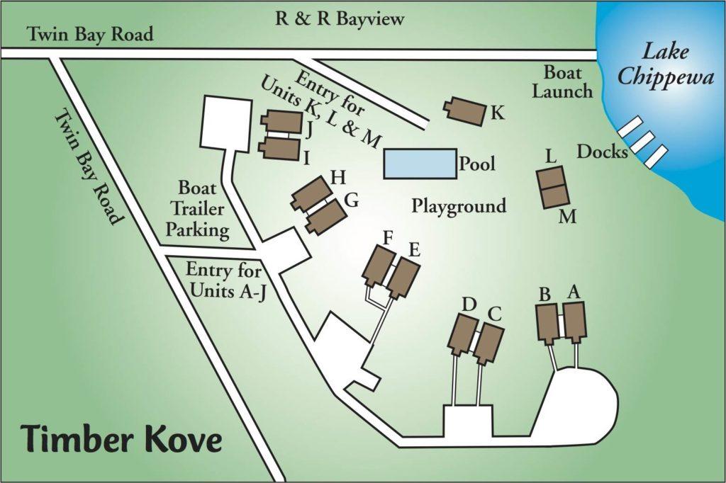timber kove map