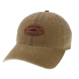 Treeland Hat in Convoy Brown with Full Adjustable Back