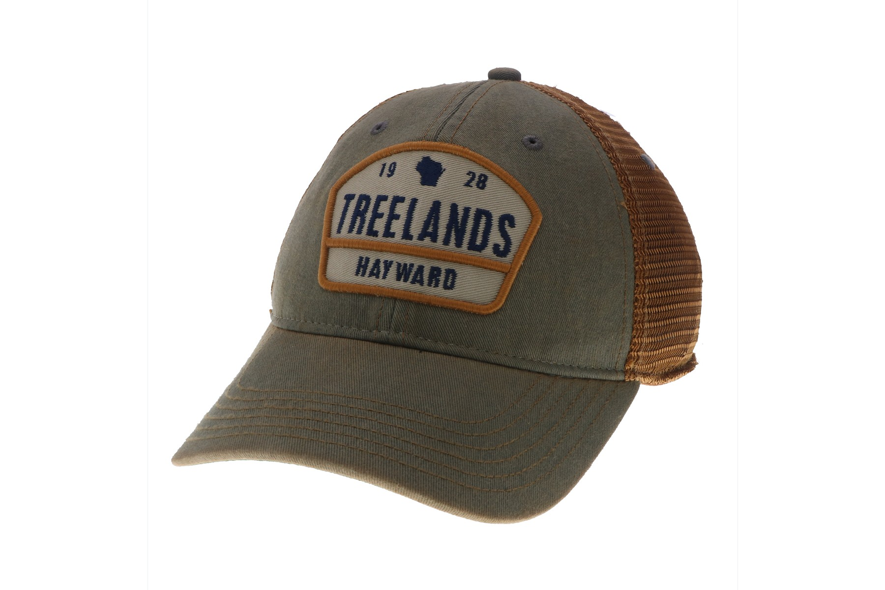 9cb2fe1a Old Favorite Grey & Copper Treeland Hat with Mesh Back - Treeland ...