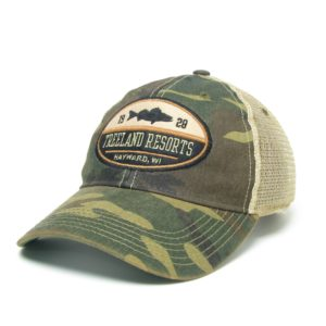 Old Favorite Camo Treeland Hat with Mesh Back