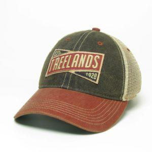 Black & Cardinal Red Old Favorite Hat