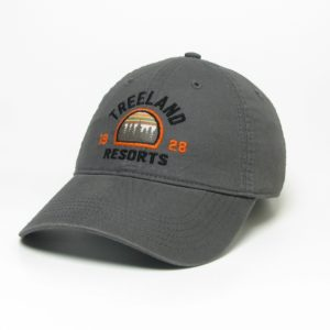 Dark Grey Lightweight Twill Hat