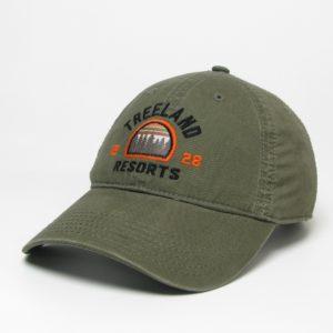 Olive Lightweight Twill Hat