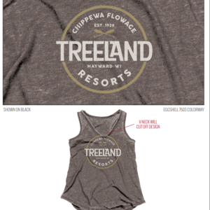 Woman's Weathered Tank Top