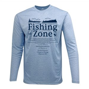 Fishing Zone Polyester Long Sleeve