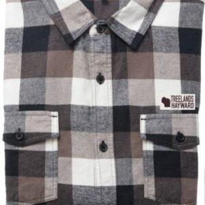 Brown Flannel Button Shirt
