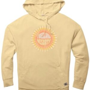 Ladies Daffodil Lightweight French Terry Hood