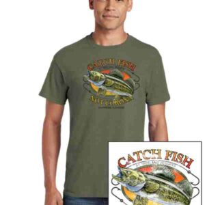 Catch Fish Not Corona T-Shirt