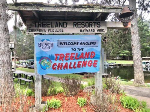 Treeland Challenge sign 2021