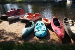 Treeland Resorts Kayaks